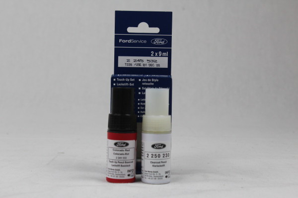 Lackstift Colorado-Rot + Klarlack je 9ml