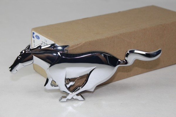 Emblem Kühlergrill vorne Pony Chrom Ford Mustang