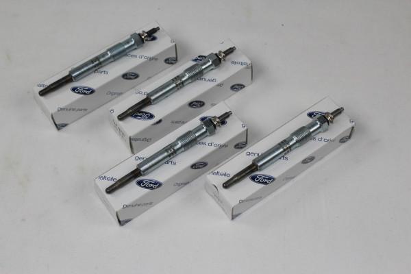 Glühkerzen 4 Stück Ford 1,8 Diesel
