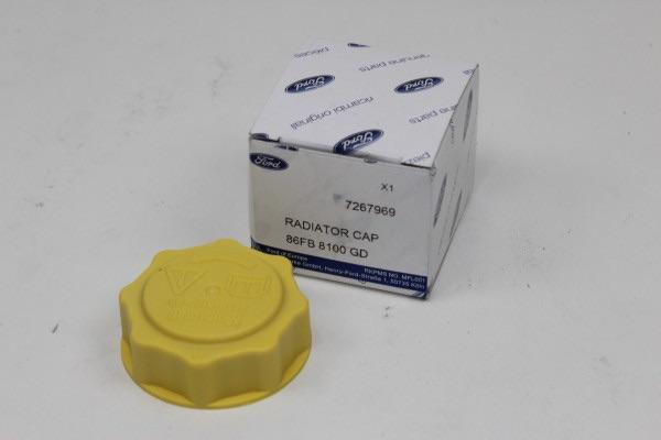 Deckel für Ausgleichsbehälter Kühlflüssigkeit Ford Fiesta - Fusion - Focus - Ka