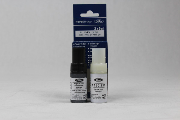 Lackstift Graphit-Grau + Klarlack je 9ml