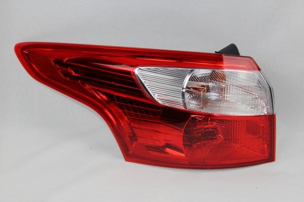 Rückleuchte links außen Ford Focus Kombi -ohne LED- Baujahr 1/2014 - 8/2014