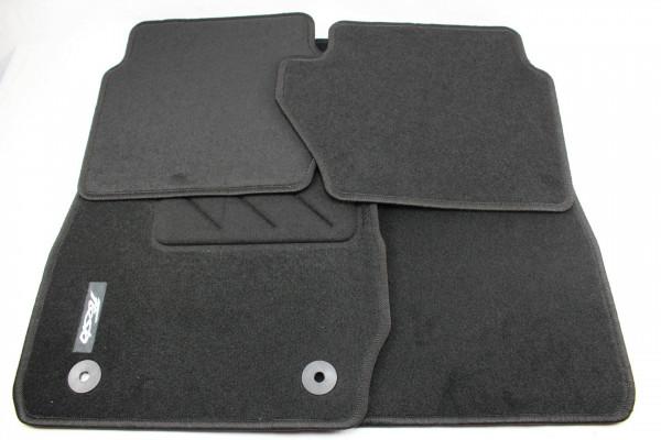 Fußmatten vorne + hinten Teppich Ford Fiesta