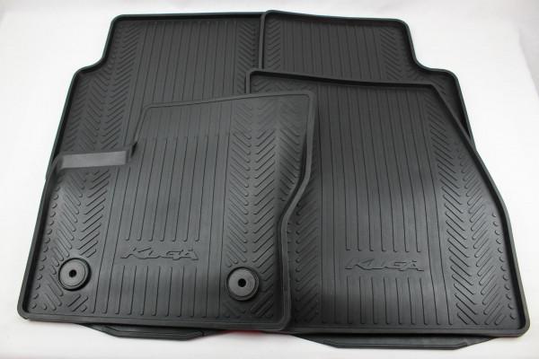 Fußmatten vorne + hinten (Gummi) Ford Kuga Baujahr 11/2012 - 1/2015