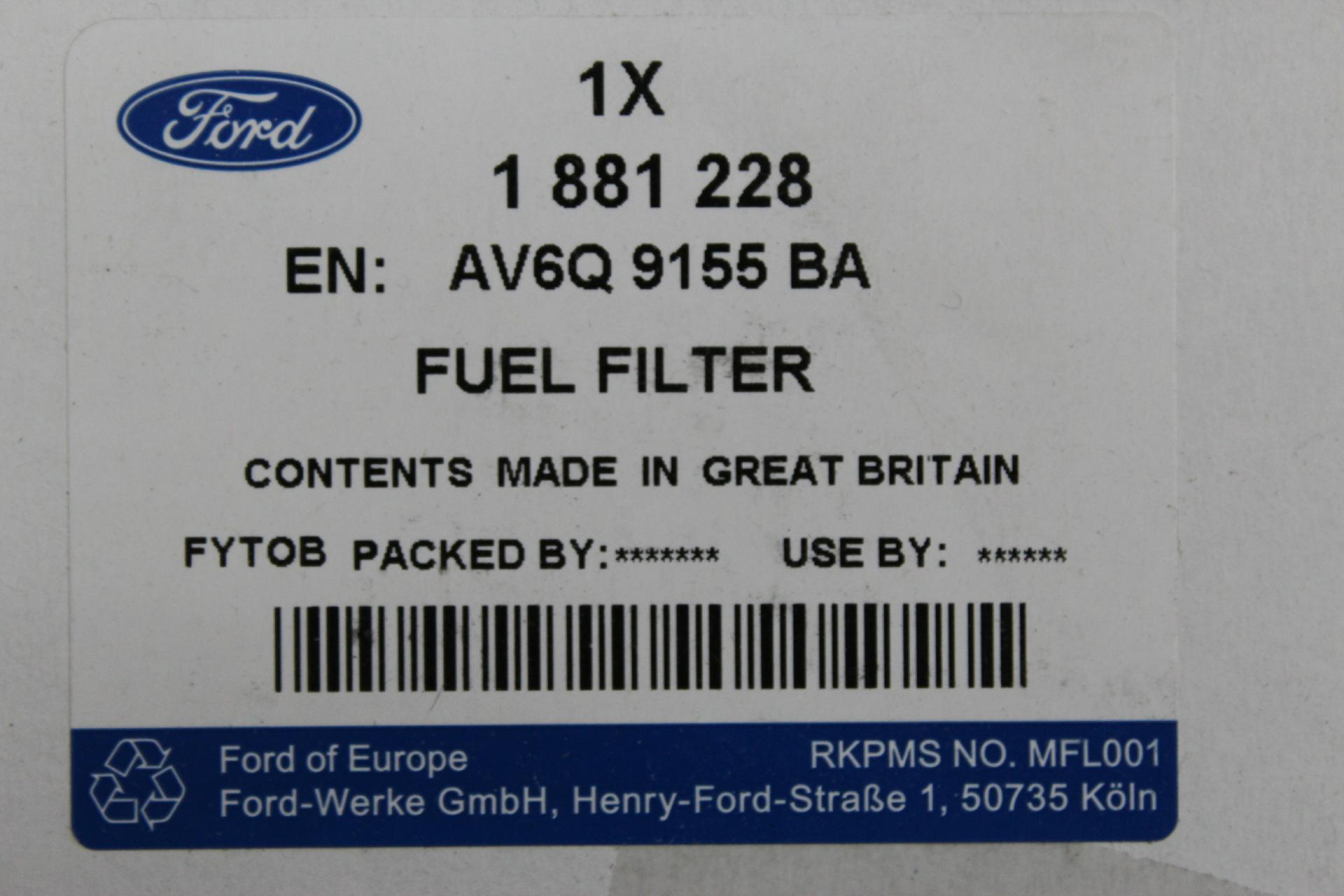 inspektionskit 1 4 1 5 1 6 diesel ford fiesta b max. Black Bedroom Furniture Sets. Home Design Ideas