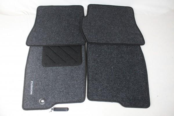 Fußmatten vorne + hinten Teppich Ford Fusion