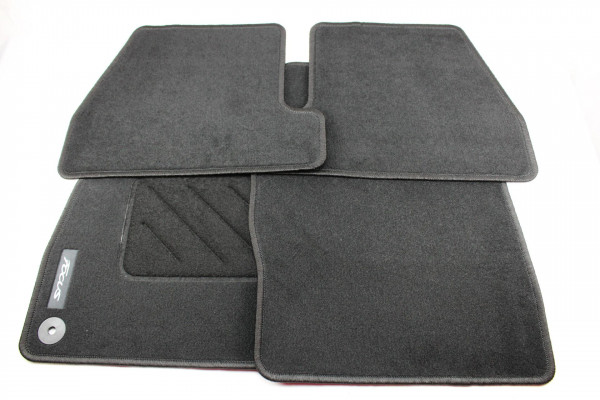 Fußmatten vorne + hinten Teppich Ford Focus
