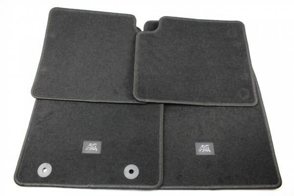 Fußmatten vorne + hinten Teppich Ford Ka