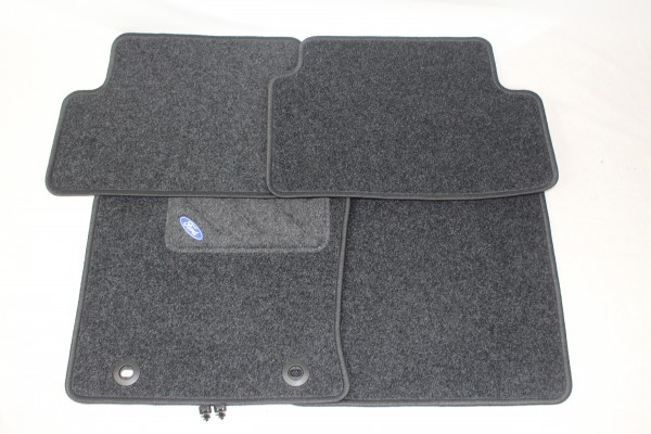 Fußmatten vorne + hinten Teppich Ford Focus MK1
