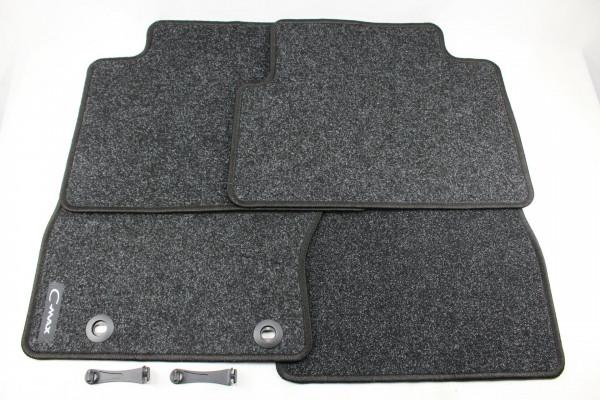 Fußmatten vorne + hinten Teppich Ford C-Max