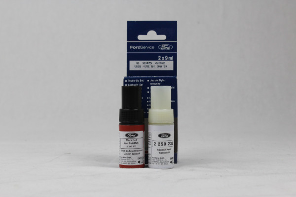 Lackstift Mars-Rot-Metallic + Klarlack je 9ml