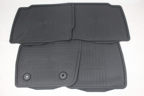 Fußmatten vorne + hinten Gummi Ford Mondeo MK5