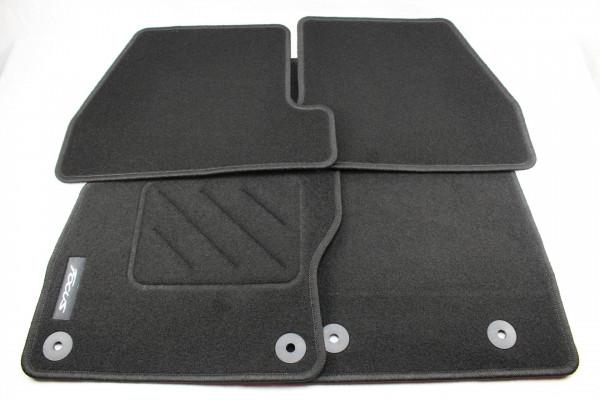 Fußmatten vorne + hinten Teppich Ford Focus MK3