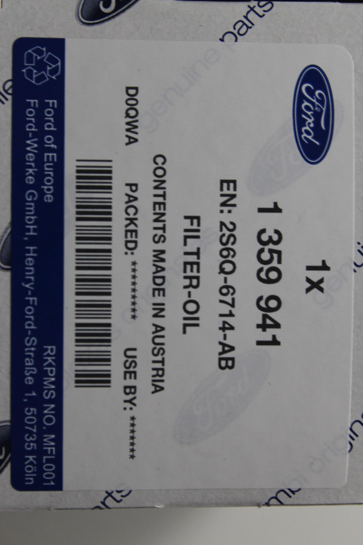 inspektionskit 1 4 1 6 diesel ford fiesta inkl 4 liter. Black Bedroom Furniture Sets. Home Design Ideas